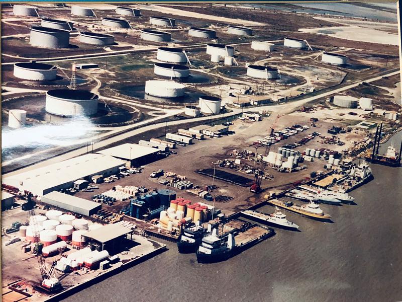 Historical Photograph of Port Aransas